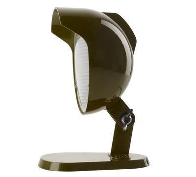 Luminaire - Lampes de table - Lampe de table Duii Mini / Applique - H 25 cm - Diesel with Foscarini - Gris - Métal verni, Verre pressé
