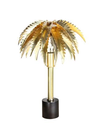 Luminaire - Lampes de table - Lampe de table Palmier / Laiton - & klevering - Or - Acier inoxydable, Revêtement laiton