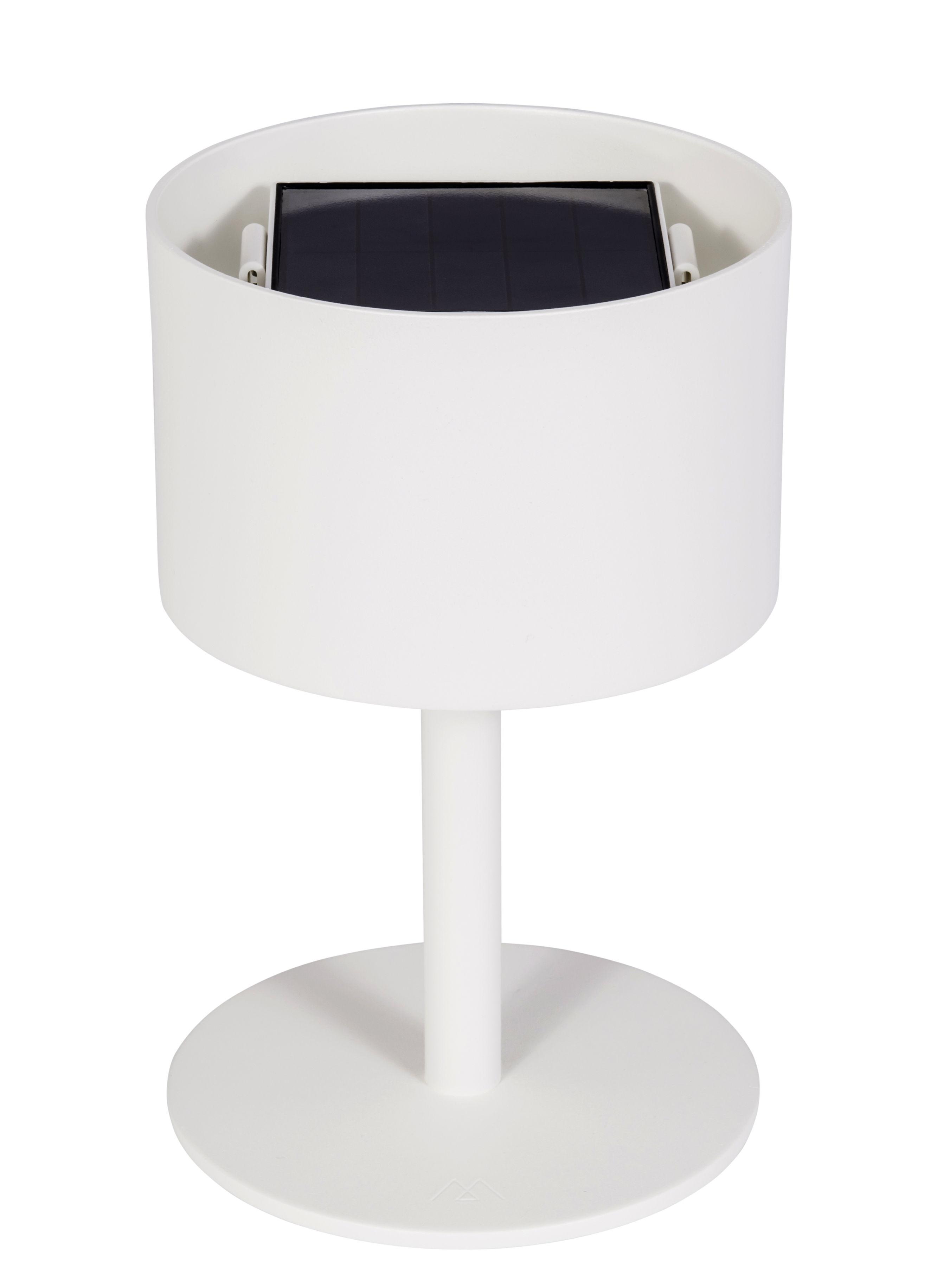 lampe solaire la lampe pose 01 led sans fil blanc maiori made in design. Black Bedroom Furniture Sets. Home Design Ideas