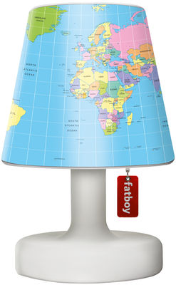 Lighting - Table Lamps - Cooper Cappie Lampshade by Fatboy - Globetrotter / blue - Polythene