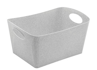 Déco - Pour les enfants - Panier Boxxx M / 3,5 L - Koziol - Gris organique - Plastique organique