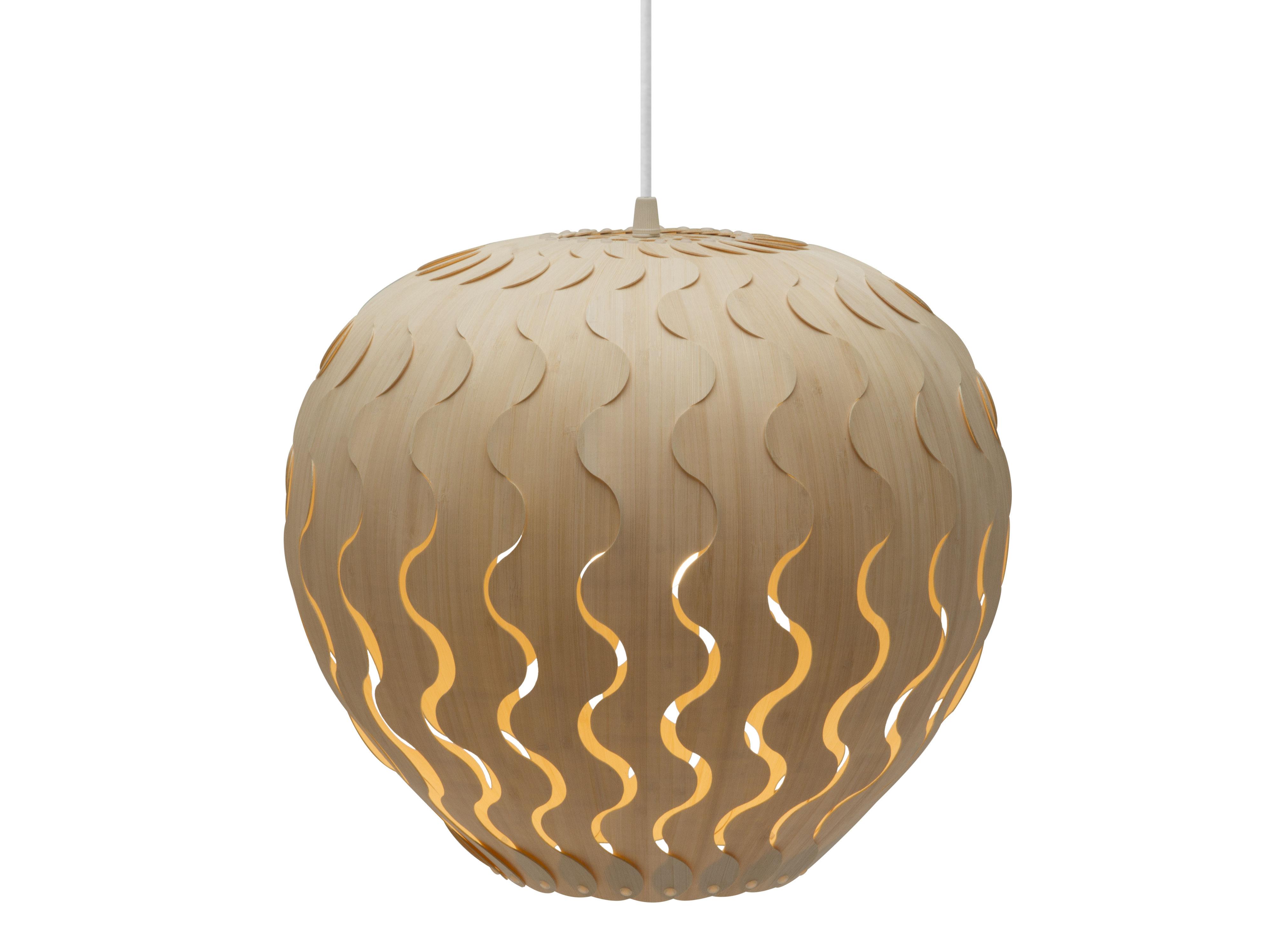 Lighting - Pendant Lighting - Belle Pendant - Small -  Ø 38 cm by David Trubridge - Small : Ø 38 cm - Bamboo, Nylon
