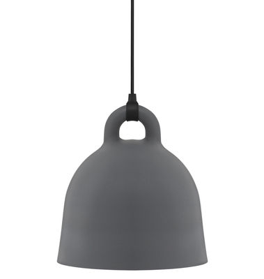 Bell Pendelleuchte klein - Normann Copenhagen - Weiß,Mattgrau