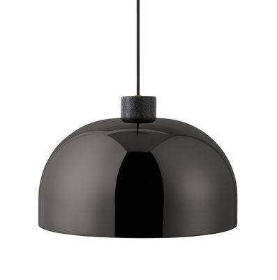 Grant Pendelleuchte / Metall & Granit - Ø 45 cm - Normann Copenhagen - Schwarz,Gris tonnerre