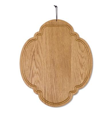 Cuisine - Ustensiles de cuisines - Planche à découper Chêne / Ovale - 26 x 32 cm - Dutchdeluxes - Chêne - Chêne massif