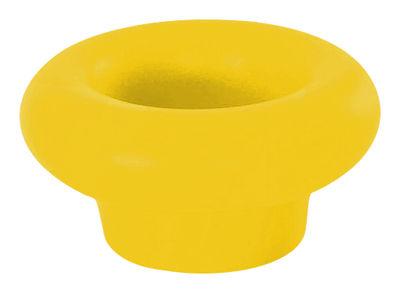 Porte-bouteilles Margarita flottant / Vase - Slide jaune en matière plastique