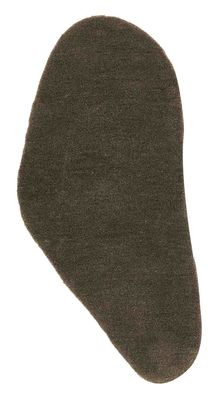 Furniture - Carpets - Little Stone 11 Rug - 55 x 110 cm by Nanimarquina - 50 x 110 cm - Slate grey stone - Wool