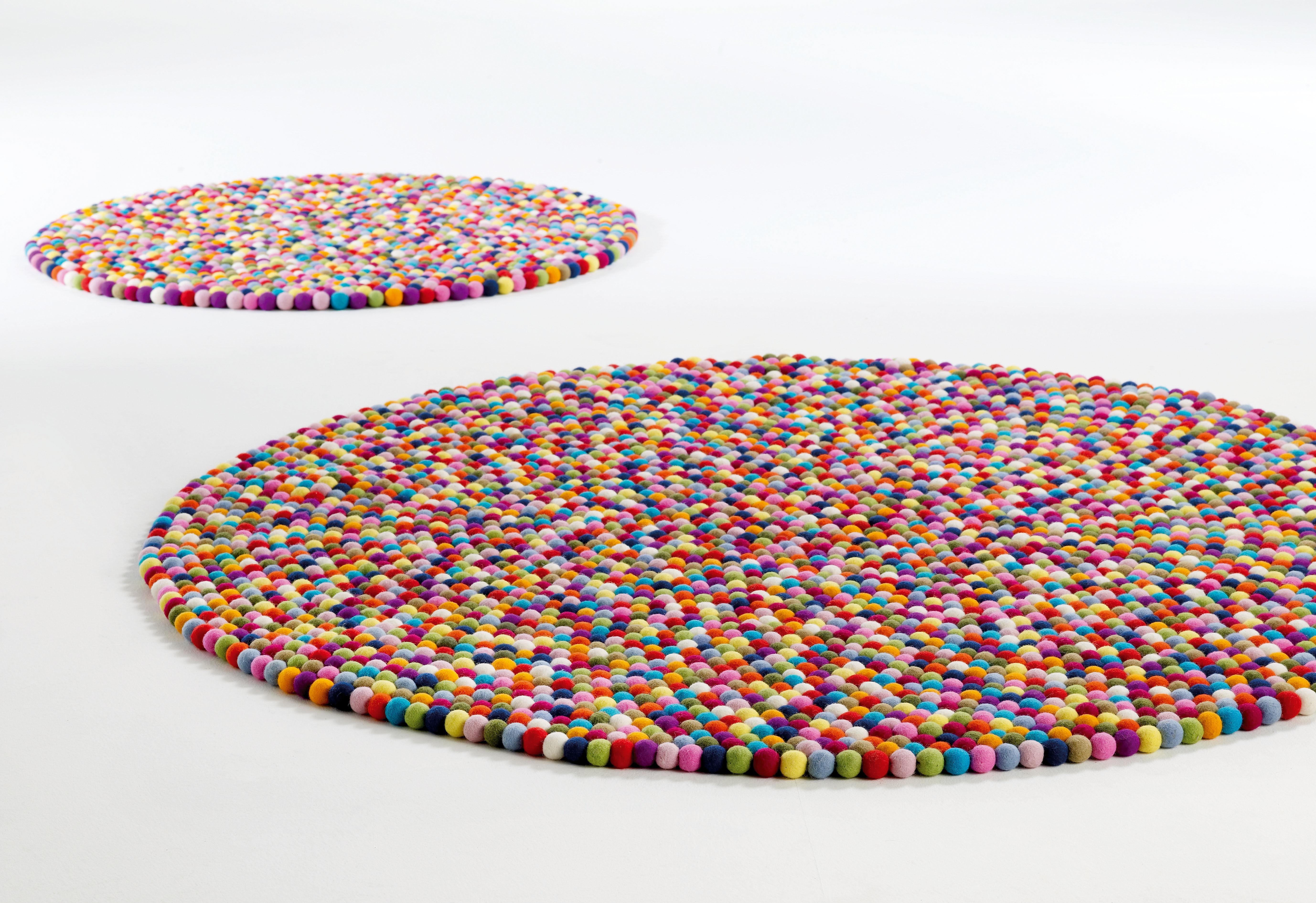 Tapis pinocchio 90 cm multicolore hay made in design - Made in design tapis ...