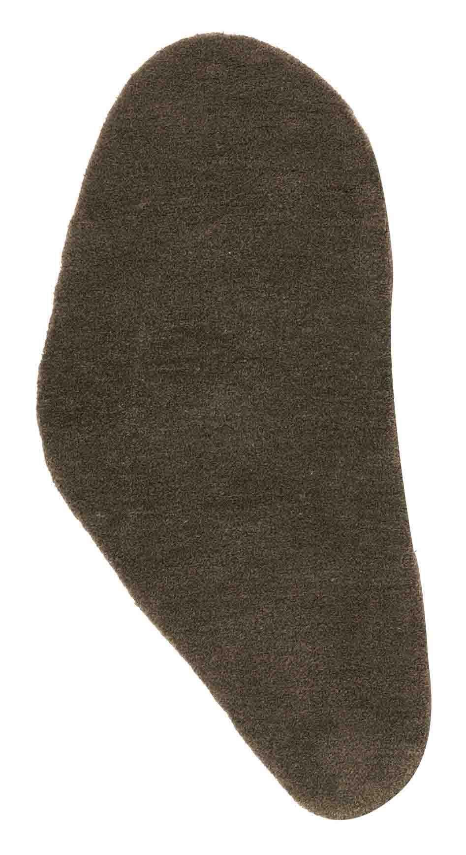 Arredamento - Tappeti  - Tappeto Little Stone 11 - 55 x 110 cm di Nanimarquina - 55 x 110 cm - Grigio ardesia - Lana