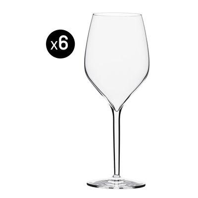 Arts de la table - Verres  - Verre à vin Vertical Large / 50 cl - Lot de 6 - Italesse - Transparent - Verre