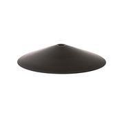 Abat-jour Angle / Pour suspension Collect - Ø 58 cm x H 10 cm - Ferm Living laiton noirci en métal