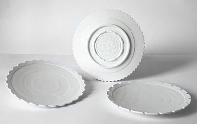 Assiette Machine Collection / Ø 27,2 cm - Set de 3 - Diesel living with Seletti blanc en céramique