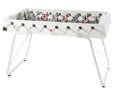 Mobilier - Compléments d'ameublement - Baby-foot RS#3 / Métal - L 151 cm - RS BARCELONA - Blanc - Acier