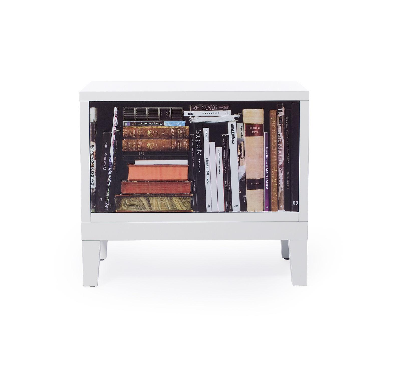Bookshelf Bedside Table