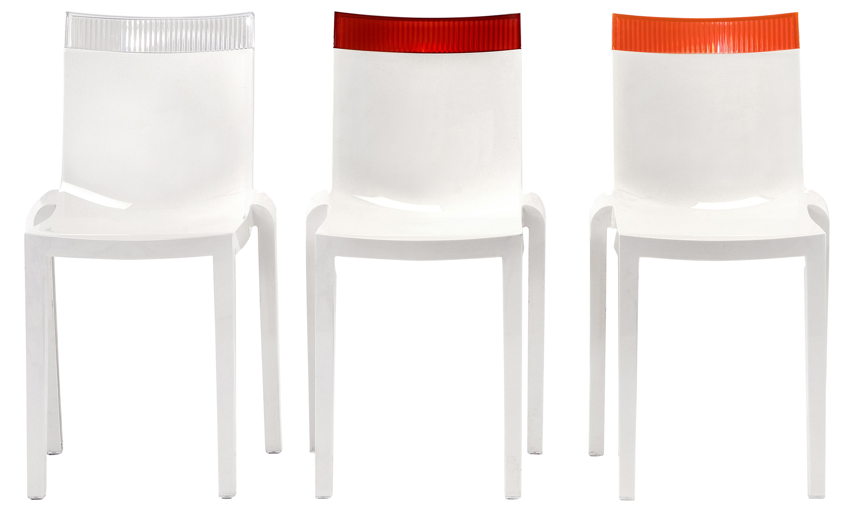 Empilable Hi Cut Polycarbonate Chaise Blanche Kartell 80wPnOk
