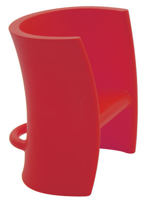 Chaise enfant Trioli - Magis Collection Me Too rouge en matière plastique