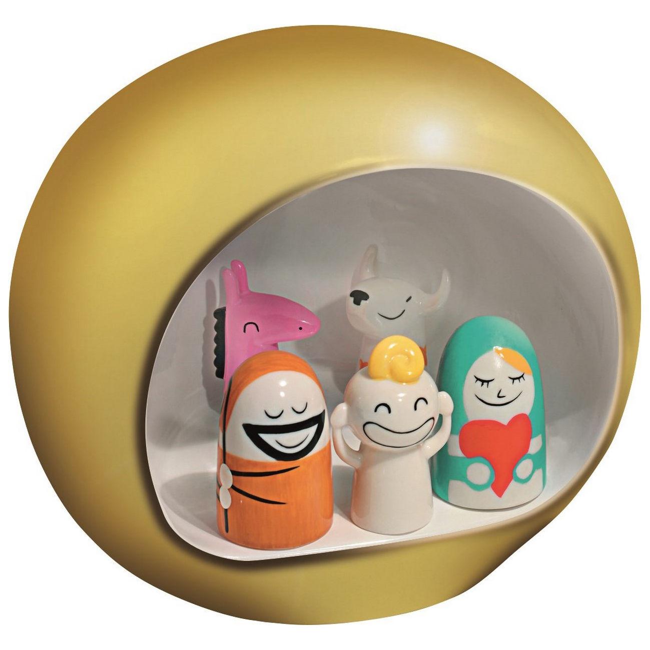 Decoration - Home Accessories - Presepe Crib by A di Alessi - Gold - China