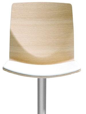 Image of Cuscino per seduta - Per sgabello Kai di Lapalma - Bianco - Pelle