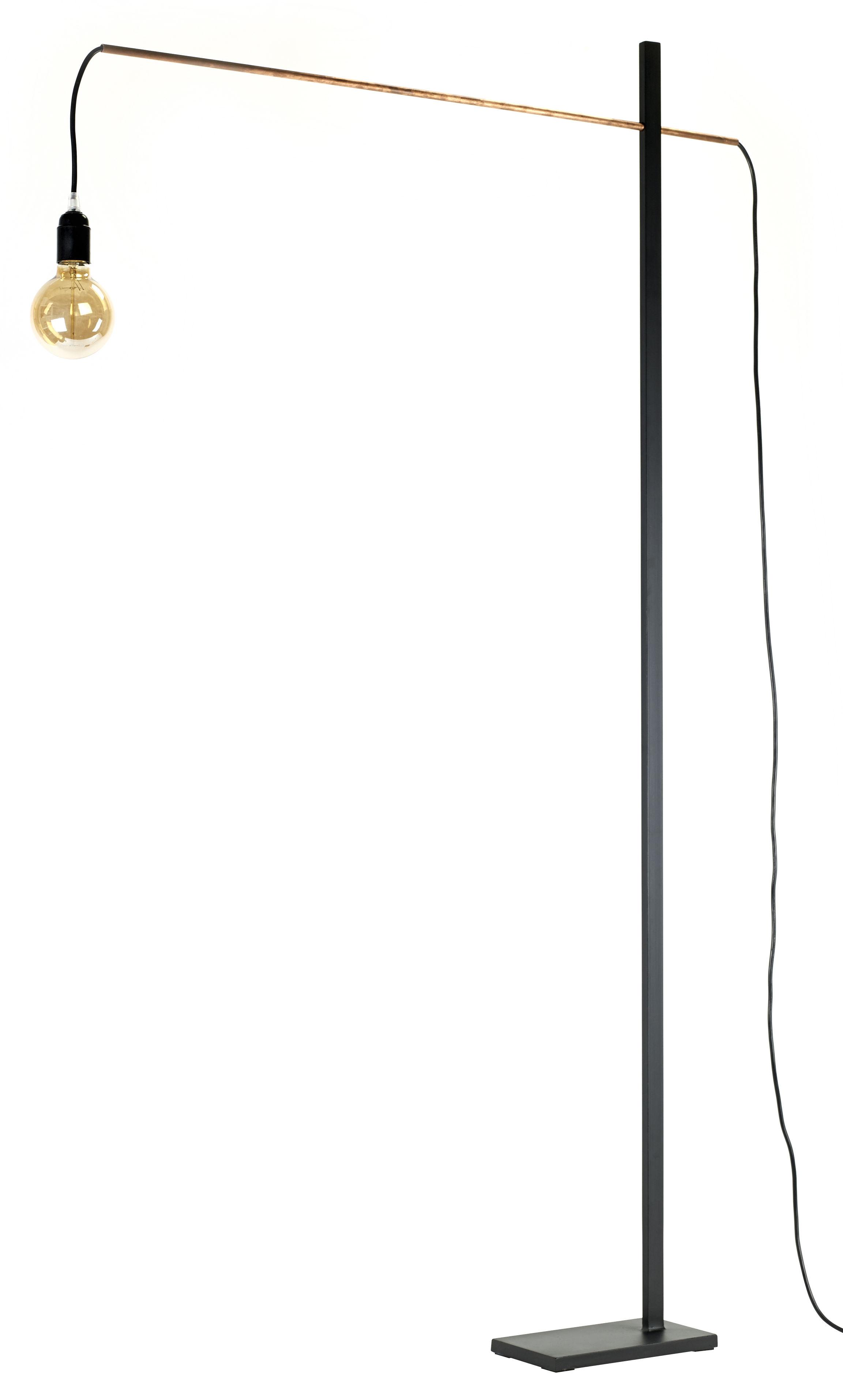 Lighting - Floor lamps - Flamingo Medium Floor lamp - / H 162 cm x L 90 cm by Serax - Black / Copper - Iron
