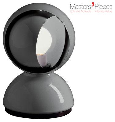 Luminaire - Lampes de table - Lampe de table Masters' Pieces - Eclisse / 1967 - Artemide - Gris argent - Métal verni