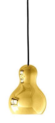 Lighting - Pendant Lighting - Calabash Pendant by Lightyears - Chromed gold - Chromed aluminium