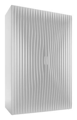 Mobilier - Meubles de rangement - Penderie Blend / 2 portes - L 128 x Prof. 72 x H 192 cm - Horm - Blanc - MDF