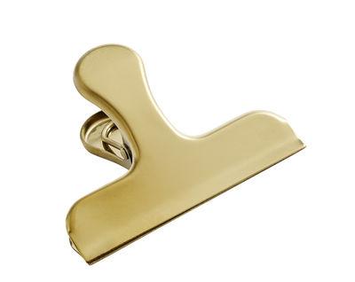 Image of Pinza Clip Clip Handle / Ottone - Hay - Oro/Metallo - Metallo