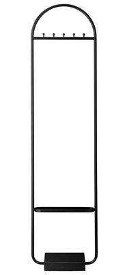 Portant Angui / Marbre & fer - H 180 cm - AYTM anthracite en métal