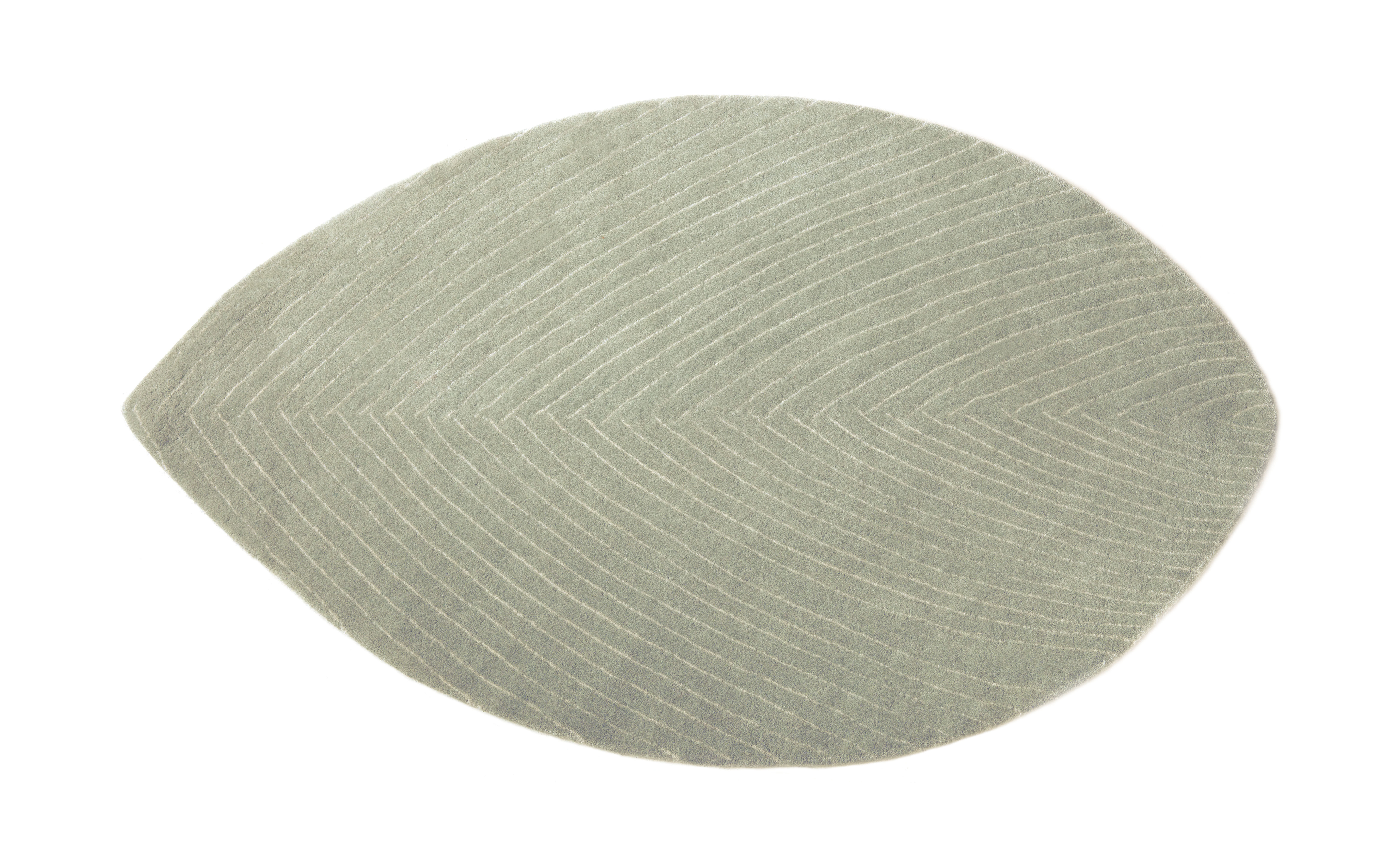 Decoration - Rugs - Quill Small Rug - 78 x 120 cm by Nanimarquina - Rainy grey - Virgin wool