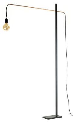 Flamingo Medium Stehleuchte / H 162 cm x L 90 cm - Serax - Kupfer,Schwarz