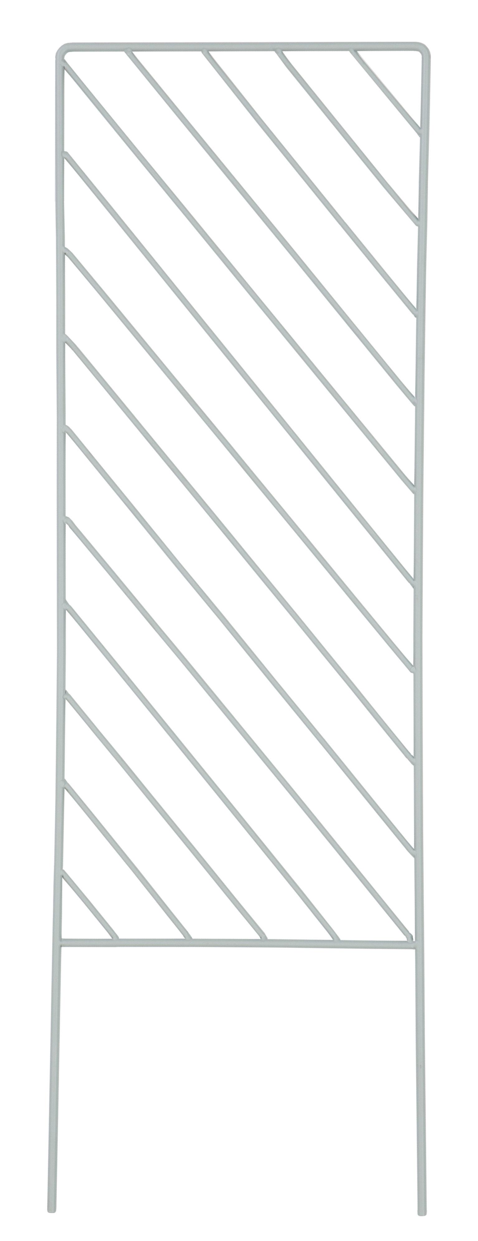 Outdoor - Töpfe und Pflanzen - Plant Wall Rectangle Stütze / für Kletterpflanzen - Ferm Living - Mintgrün - lackiertes Metall
