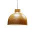 Suspension Bellissima Wood / Ø 50 cm - Plastique effet bois - Kartell