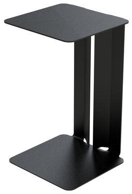 Table d'appoint Leste - Matière Grise noir en métal