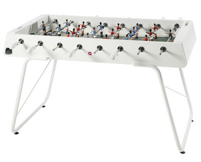 Furniture - Miscellaneous furniture - RS#3 Table football - L 151 cm by RS BARCELONA - White - Steel