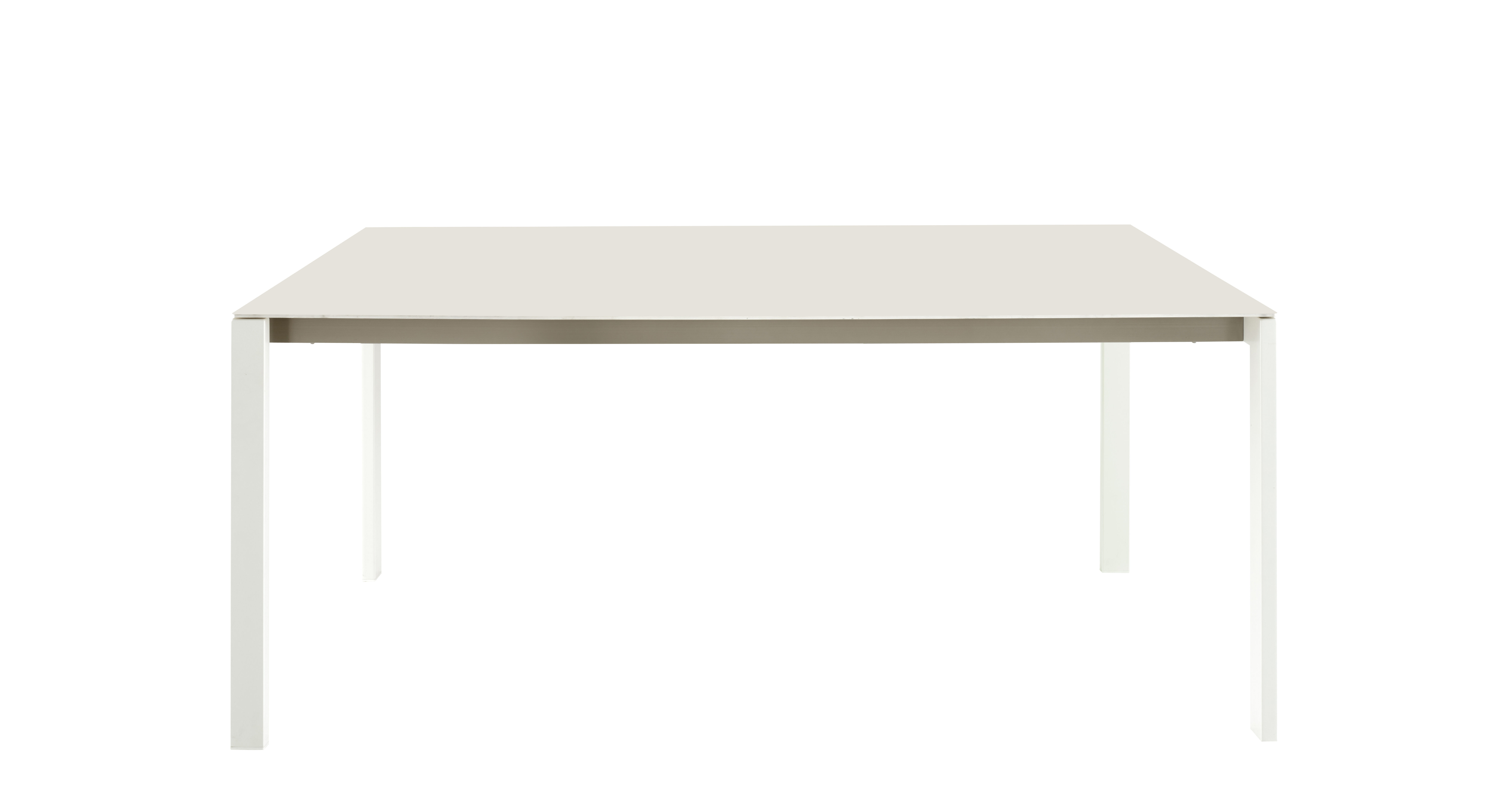 Table rectangulaire Dehors Cinna - Blanc | Made In Design