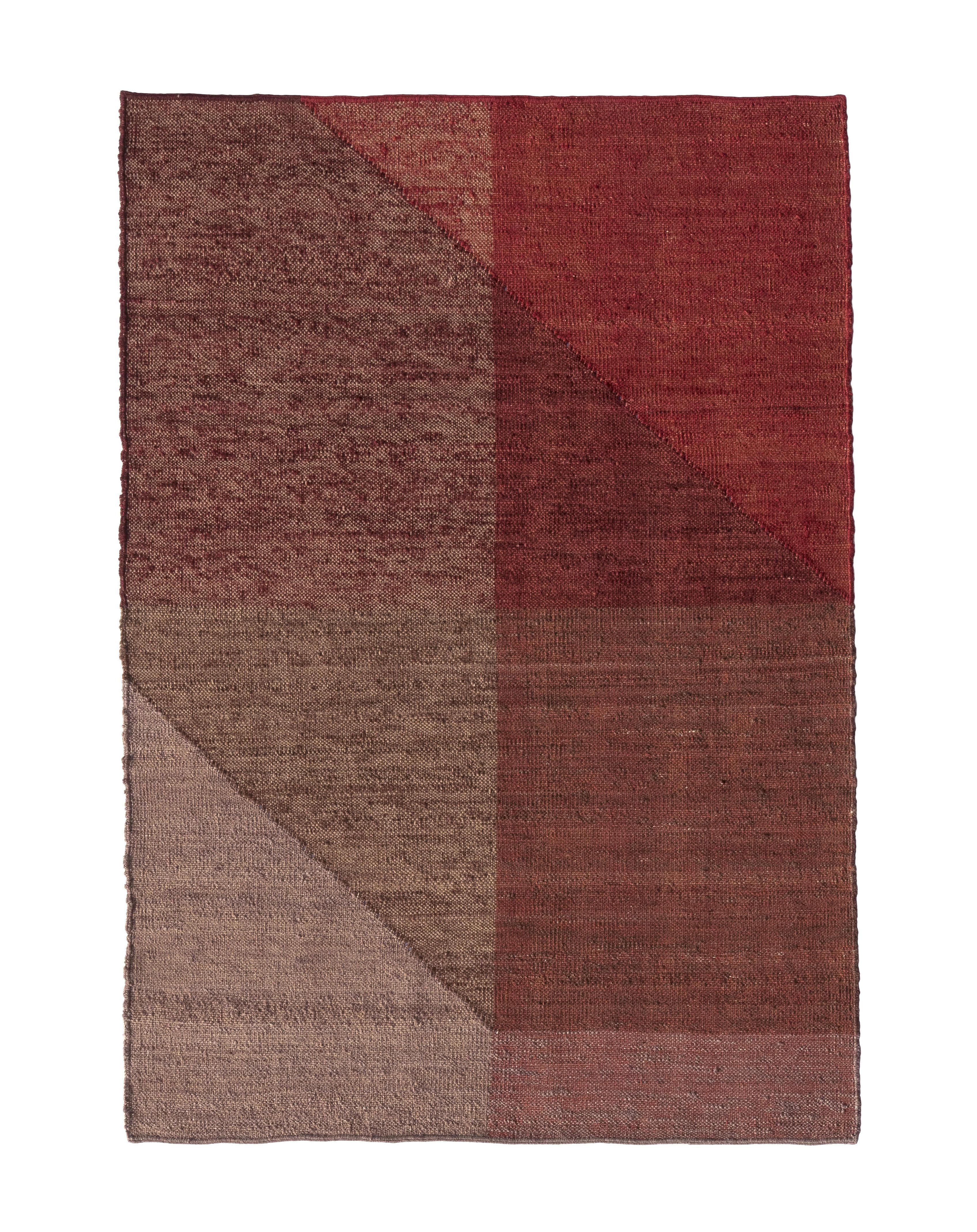 Interni - Tappeti - Tappeto Capas 1 - / 170 x 240 cm di Nanimarquina - Rosso - Lana