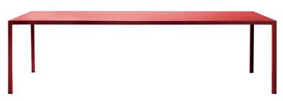 Arredamento - Tavoli - Tavolo rettangolare Iltavolo - / 100 x 260 cm di Opinion Ciatti - Rosso - metallo verniciato