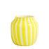 Vase Juice / Bas - Ø 22 x H 22 cm - Hay