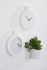Label Wall clock - / L 24 x H 29,5 cm by Thelermont Hupton