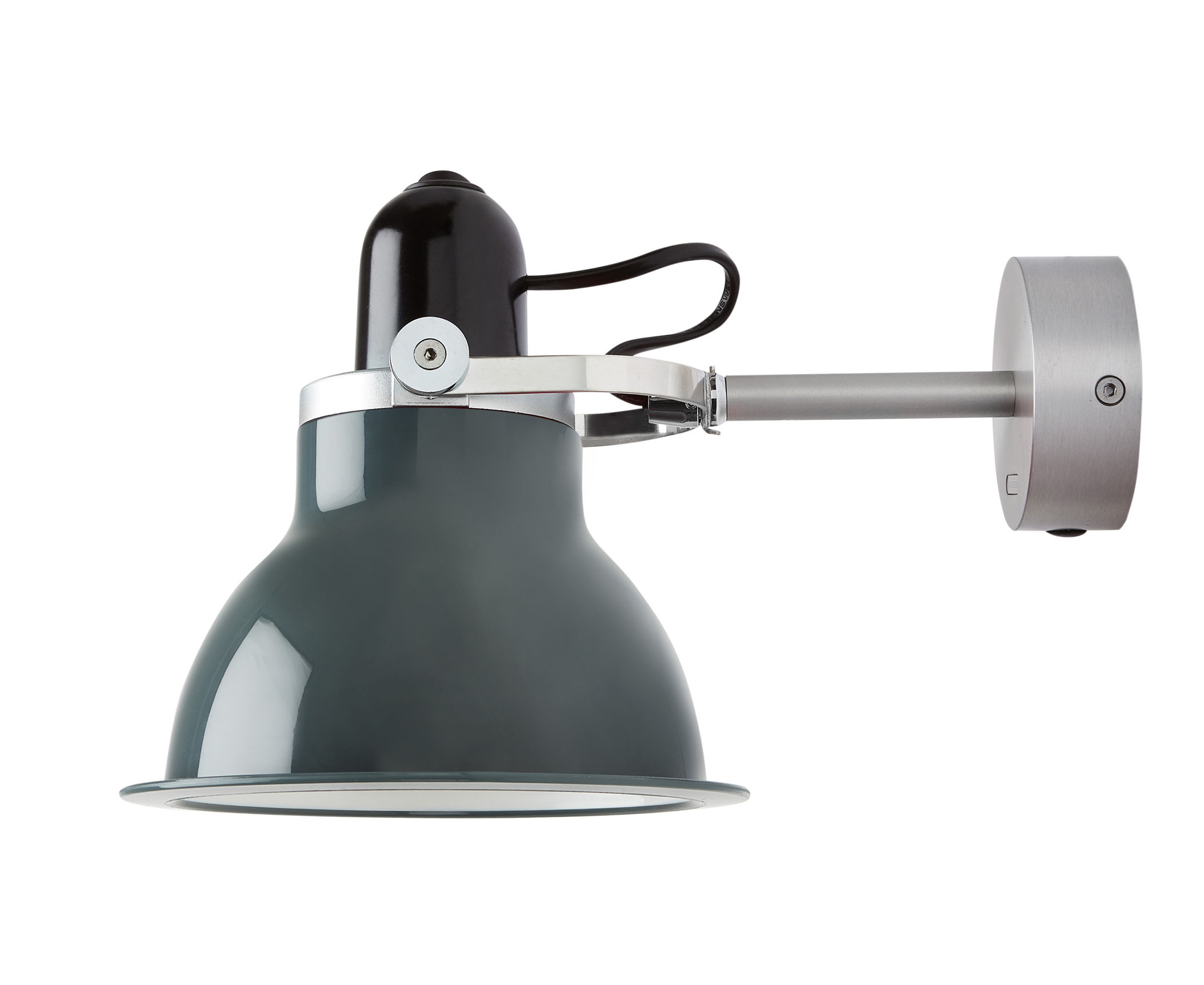 Lighting - Wall Lights - Type 1228 Wall light - Wall lamp by Anglepoise - Grey - Metal, Polycarbonate