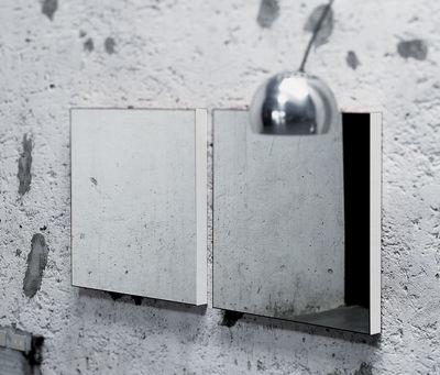 Möbel - Spiegel - Giano Wandspiegel Wandspiegel - Glas Italia - Weiß lackiert - Glas