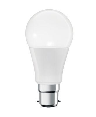 Ampoule LED B22 connectée / Smart+ - Multicolore RGBW - Standard 10W=60W - Ledvance blanc en verre