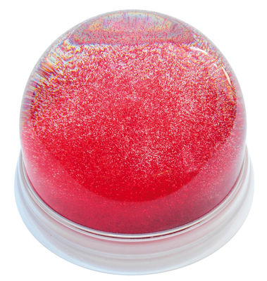 Boule à neige Boule à neige souvenir géante géante - Maison Martin Margiela rouge en matière plastique