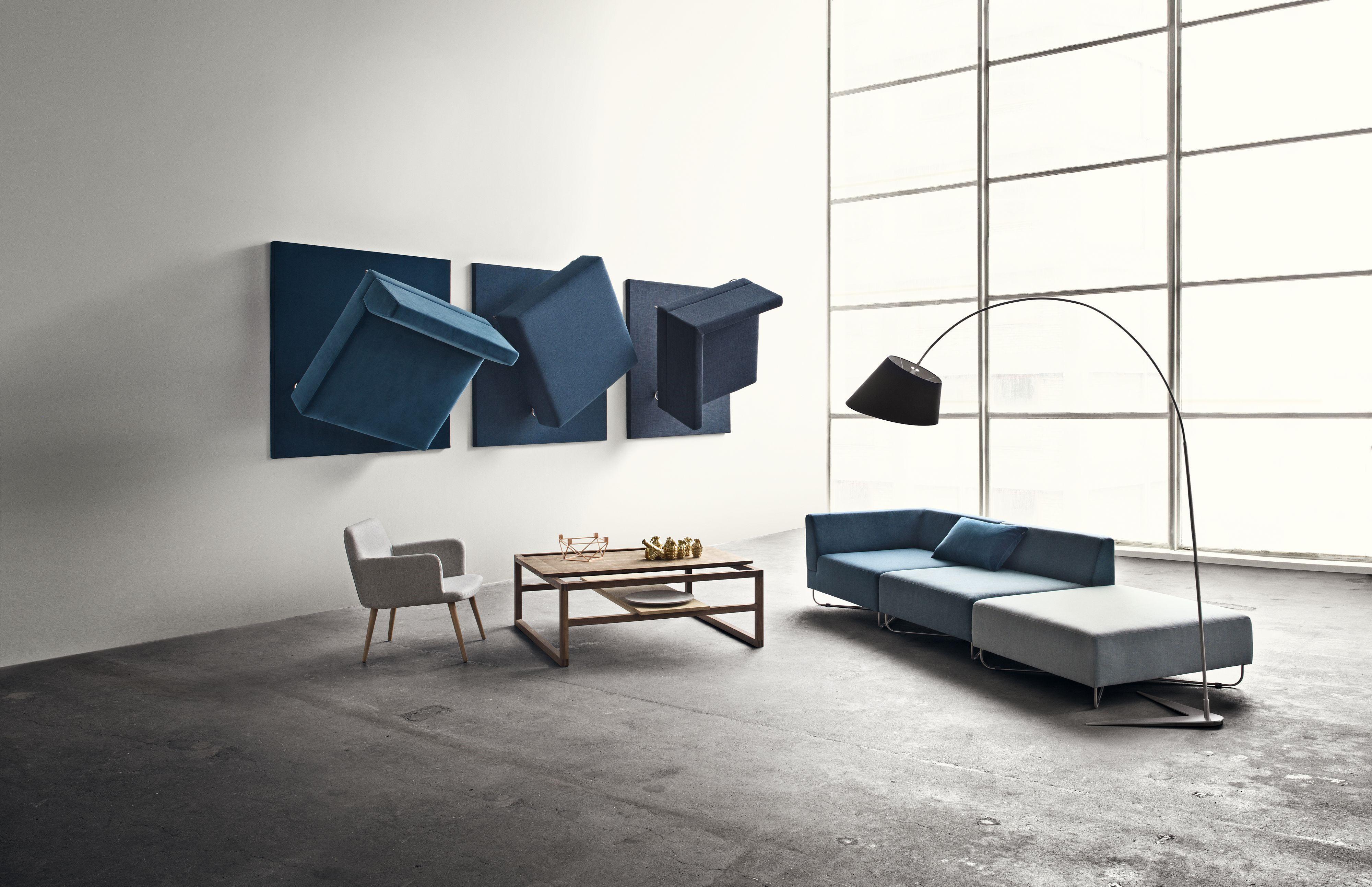canap modulable orlando module accoudoir droite module gauche bleu bolia made in design. Black Bedroom Furniture Sets. Home Design Ideas