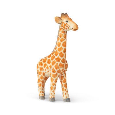 Decoration - Children's Home Accessories - Animal Figurine - / Giraffe - Hand-carved wood by Ferm Living - Giraffe - Poplar wood