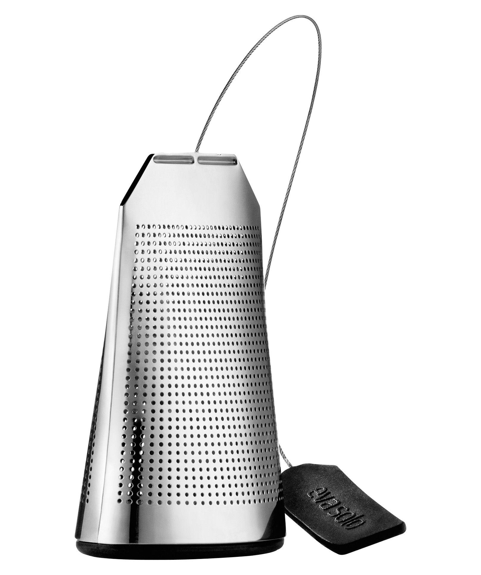 Tavola - Caffè - Filtro da tè Tea bag di Eva Solo - Acciaio - Acciaio inossidabile, Silicone