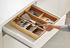 Organizzatore per ustensili DrawerStore Bamboo - / Per coperti & utensili - 38,6 x 39,8 cm di Joseph Joseph