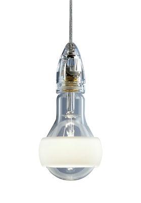 Lighting - Pendant Lighting - Johnny B. Good Pendant - Version 2 by Ingo Maurer - White - Cable : L 420 cm - Glass