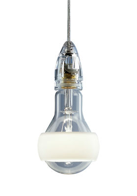Leuchten - Pendelleuchten - Johnny B. Good Pendelleuchte Version 2 - Ingo Maurer - Weiß - Kabellänge: 420 cm - Glas