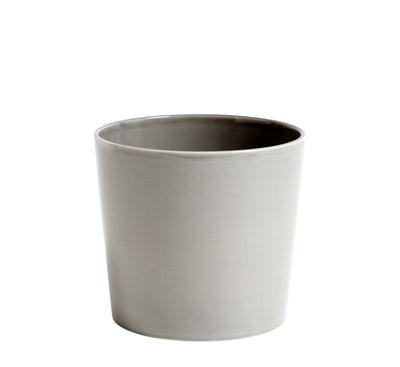 Pot de fleurs Botanical Large /Ø18 cm - Céramique - Hay gris en céramique